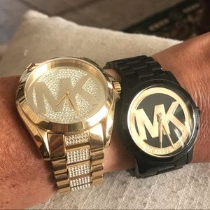 2 Michael Kors Watches Excellent Condition